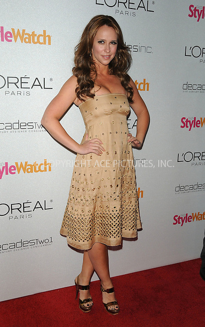 WWW.ACEPIXS.COM . . . . . ....January 27 2011, Los Angeles....Actress Jennifer Love Hewitt arriving at 'A Night Of Red Carpet Style' hosted by People StyleWatch at Decades on January 27, 2011 in Los Angeles, California.....Please byline: PETER WEST - ACEPIXS.COM....Ace Pictures, Inc:  ..(212) 243-8787 or (646) 679 0430..e-mail: picturedesk@acepixs.com..web: http://www.acepixs.com