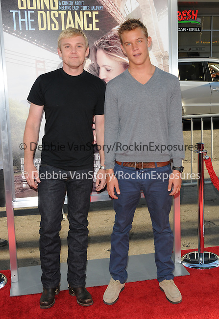 Rick Schroeder & son Luke at the Warner Bros. Pictures' L.A. Premiere of Going the Distance held at The Grauman's Chinese Theatre in Hollywood, California on August 23,2010                                                                               © 2010 Hollywood Press Agency