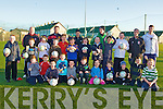 FOOTBALL FOR ALL: Enjoying the Football For All coaching sessions organize by the FAI and St Brendan's Park FC at Christy Leahy Park on Monday.