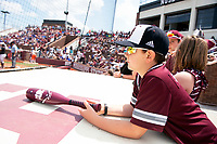 Fans during the softball game vs Florida at Super Bulldog Weekend.<br />  (photo by Beth Wynn / &copy; Mississippi State University)