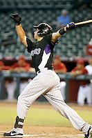 Dustin Garneau - Colorado Rockies - 2010 Instructional League.Photo by:  Bill Mitchell/Four Seam Images..