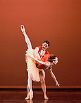 English National Ballet. Side Show. Choreographer Kenneth MacMillan. Yat Sen Chang. Simone Clarke