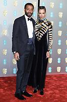 Chewetel Ejiofor<br /> arriving for the BAFTA Film Awards 2019 at the Royal Albert Hall, London<br /> <br /> ©Ash Knotek  D3478  10/02/2019