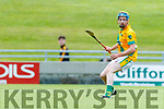 Dougie Fitzell Kilmoyley in action against  Lixnaw in the Kerry County Senior Hurling championship Final between Kilmoyley and Lixnaw at Austin Stack Park on Sunday.