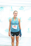 Rachel Harrington Finishes 1st Among Women Runners at the 6th Annual T.E.A.L Walk/Run Held in Prospect Park Brooklyn New York