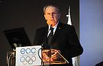 OLIMPIJSKI KOMITET, BEOGRAD, 27. Nov. 2010. -  Predsednik MOK-a Zak Rog. 39. Generalna skupstina Evropskih olimpijskih komiteta (EOK) koja je odrzana u Beogradu. Foto: Nenad Negovanovic