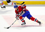 7 December 2009: Montreal Canadiens' center Glen Metropolit in action against the Philadelphia Flyers at the Bell Centre in Montreal, Quebec, Canada. The Canadiens rallied, and defeated the Flyers 3-1. Mandatory Credit: Ed Wolfstein Photo