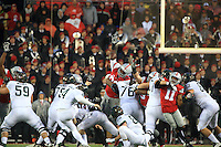 The Ohio State University football team was defeated 17-14 by Michigan State University in their last home game of the 2015 season.