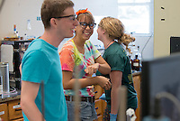 Occidental College's Summer Research Program, summer 2013. (Photo by Marc Campos, Occidental College Photographer)