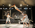 French company, Cirque le Roux, presents THE ELEPHANT IN THE ROOM, in the Beauty, part of the new Underbelly Circus Hub on the Meadows, during Edinburgh Festival Fringe.