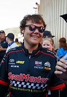Jul 23, 2017; Morrison, CO, USA; NHRA top fuel driver Troy Coughlin Jr during the Mile High Nationals at Bandimere Speedway. Mandatory Credit: Mark J. Rebilas-USA TODAY Sports