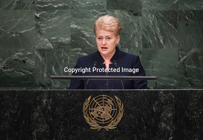Address by Her Excellency Dalia Grybauskaitė, President of the Republic of Lithuania