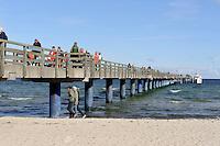 Seebrücke in Boltenhagen, Mecklenburg-Vorpommern, Deutschland