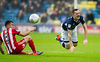 Millwall's Shaun Williams during the Sky Bet Championship match between Millwall and Brentford at The Den, London, England on 10 March 2018. Photo by Andrew Aleksiejczuk / PRiME Media Images.