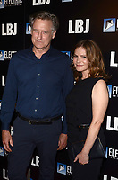 "LOS ANGELES - OCT 24:  Bill Pullman, Jennifer Jason Leigh at the ""LBJ"" World Premiere at the ArcLight Theater on October 24, 2017 in Los Angeles, CA"