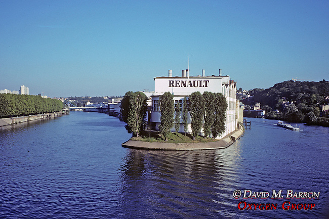 Renault Factory On The Seine River