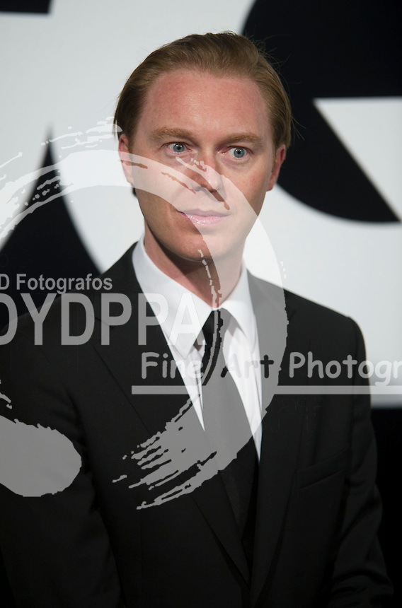 19/11/2012. Palace Hotel. Madrid. Spain. GQ Men Of The Year Award 2012. stuart vevers. (C) Belen Diaz / DyD Fotografos
