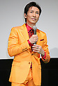 "Hiromi Go, October 25, 2011 : Japanese Singer Hiromi Go attends a stage greeting for the film ""Japanese Salaryman Neo"" during the 24th Tokyo International Film Festival in Roppongi, Tokyo, japan. (Photo by Yusuke Nakanishi/AFLO) [1090]"