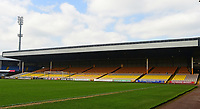 A general view of Vale Park, home of Port Vale FC<br /> <br /> Photographer Andrew Vaughan/CameraSport<br /> <br /> The EFL Sky Bet League Two - Port Vale v Lincoln City - Saturday 14th April 2018 - Vale Park - Burslem<br /> <br /> World Copyright &copy; 2018 CameraSport. All rights reserved. 43 Linden Ave. Countesthorpe. Leicester. England. LE8 5PG - Tel: +44 (0) 116 277 4147 - admin@camerasport.com - www.camerasport.com