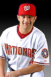 25 February 2007: Washington Nationals infielder Kory Casto poses for his Photo Day portrait at Space Coast Stadium in Viera, Florida.<br /> <br /> Mandatory Photo Credit: Ed Wolfstein Photo<br /> <br /> Note: This image is available in a RAW (NEF) File Format - contact Photographer.