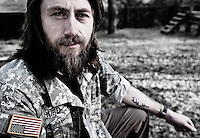 """The common theme through all the stuff that we were doing, everywhere we went the Iraqis always told me that we shouldn't be there, that their lives were better before we got there and that now there lives were ruined because we were there.... On top of seeing things I didn't agree with I was finding out I was completely lied to... The military teaches you to dehumanize people; you can't pull a trigger on someone you feel equal with, you just can't.  Being in Iraq though, I actually learned to see the Iraqis as equals.""..Jason Hurd, Iraq War Veteran from Kingsport, TN"
