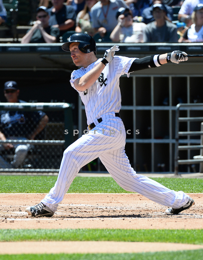 Chicago White Sox Todd Frazier (21) during a game against the Atlanta Braves on July 9, 2016 at US Cellular Field in Chicago, IL. The White Sox beat the Braves 5-4.