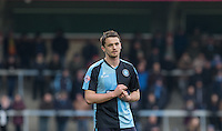 Stephen McGinn of Wycombe Wanderers during the Sky Bet League 2 match between Wycombe Wanderers and Bristol Rovers at Adams Park, High Wycombe, England on 27 February 2016. Photo by Andy Rowland.