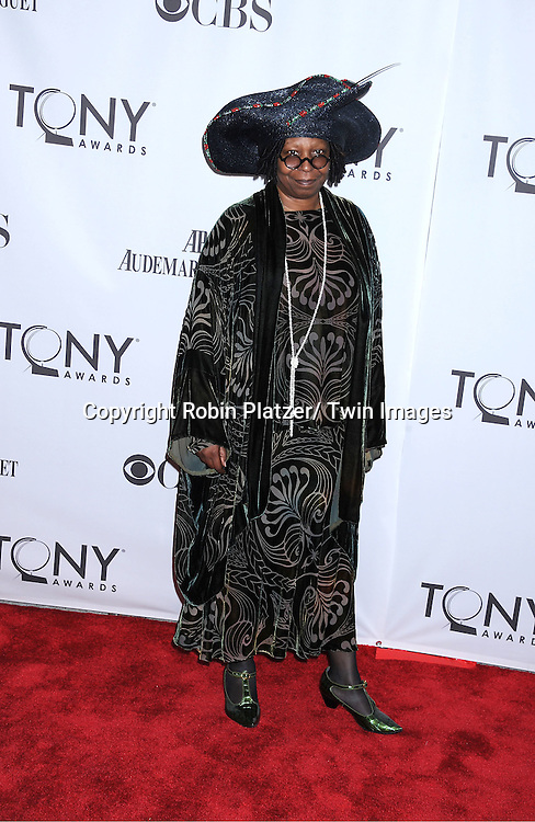 Whoopi Goldberg attending the 65th Annual Tony Awards at the Beacon Theatre in New York City on June 12, 2011.