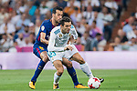 Mateo Kovacic (r) of Real Madrid competes for the ball with Andre Filipe Tavares Gomes of FC Barcelona during their Supercopa de Espana Final 2nd Leg match between Real Madrid and FC Barcelona at the Estadio Santiago Bernabeu on 16 August 2017 in Madrid, Spain. Photo by Diego Gonzalez Souto / Power Sport Images