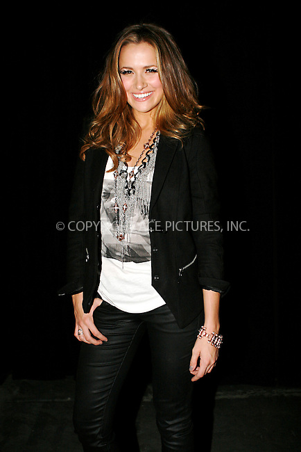 WWW.ACEPIXS.COM . . . . .  ....September 14, 2010....Actress Shantel Van Satten attends the G-Star Raw fashion show held at Pier 94 on September 14, 2010 in New York City.......Please byline: NANCY RIVERA - ACEPIXS.COM.... *** ***..Ace Pictures, Inc:  ..Philip Vaughan  (646) 769 0430..e-mail: info@acepixs.com..web: http://www.acepixs.com