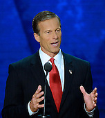 United States Senator John Thune (Republican of South Dakota) makes remarks at the 2012 Republican National Convention in Tampa Bay, Florida on Wednesday, August 29, 2012.  .Credit: Ron Sachs / CNP.(RESTRICTION: NO New York or New Jersey Newspapers or newspapers within a 75 mile radius of New York City)
