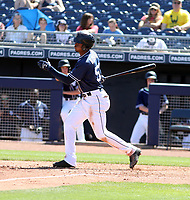 Jeisson Rosario - San Diego Padres 2019 spring training (Bill Mitchell)
