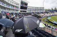 A general view of rain affected Ageas Bowl during South Africa vs West Indies, ICC World Cup Cricket at the Hampshire Bowl on 10th June 2019