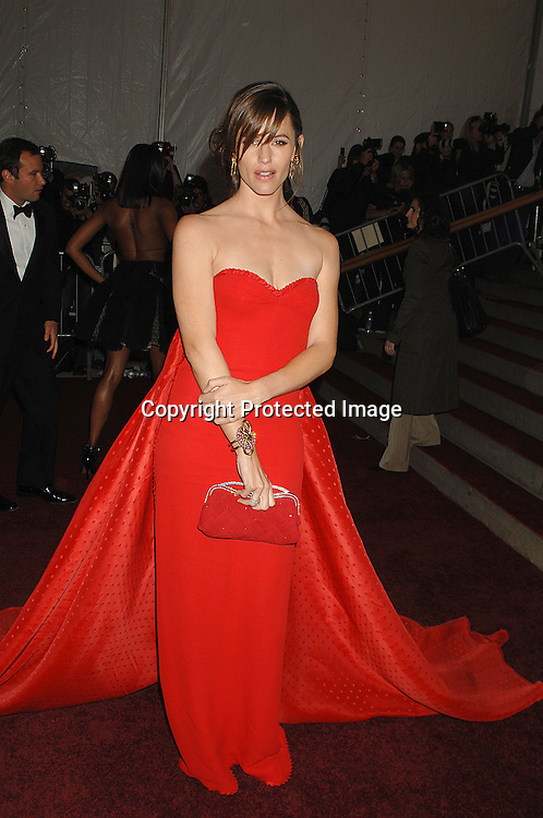 Jennifer Garner..arriving at The Metropolitan Museum of Art's Costume Institute Gala on May 7, 2007 in New York City. The Gala celebrates the exhibition: Poiret: King of Fashion..Robin Platzer, Twin Images......212-935-0770
