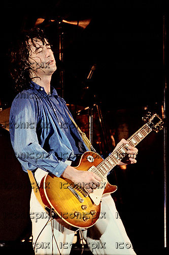 Led Zeppelin performing live on what would be their final UK performance at Knebworth Park in Hertfordshire UK - 11 Aug 1979.  Photo credit: Alan Perry/IconicPix  ***LO-RES IMAGE - Please contact IconicPix to approve usage and HI-RES image***