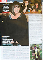 Hello Magazine<br /> Dawn French by CAN<br /> 41033<br /> tearsheet