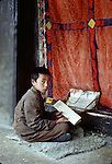 1985 - ATRIP TO CHINA BECOMES A FORAY INTO TIBET ALONG THE HIGHWAY FROM GOLMUD TO LHASA ACROSS THE TIBETAN PLATEAU , DURING THE TIBETAN SUMMER FESTIVALS..LHASA AND THE POTALA PALACE AND OTHER MONASTERIES.