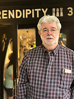 George Lucas visits Serendipity 3 in New York City