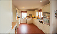 BNPS.co.uk (01202 558833)<br /> Pic:  Strutt&Parker/BNPS<br /> <br /> Interiors of the Port House.<br /> <br /> A stunning Scottish island has emerged for sale for just £1.4million - the cost of a London terraced home.<br /> <br /> Inchmarnock, at the northern end of the Sound of Bute in the Firth of Clyde, is 2.5 miles long, half a mile wide and has 4.75miles of coastline.<br /> <br /> The 660 acre island has a fascinating history, having been a target of Viking raids and used as a D-Day training ground - with bomb craters still visible in its landscape.<br /> <br /> A farmer even discovered the remains of a local Bronze Age woman, the Queen of the Inch, on the island in the 1960s. She lay in a stone cist wearing a black lignite necklace and carrying a flint dagger.