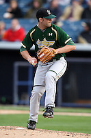 March 2, 2010:  Pitcher Andrew Salgueiro of the South Florida Bulls during a game at Legends Field in Tampa, FL.  Photo By Mike Janes/Four Seam Images