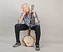 Peggy Seeger . Photographed for The Times by  Geraint Lewis