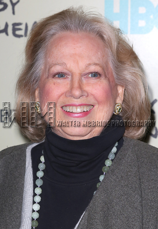 Barbara Cook  attending the Premiere Screening of HBO's 'Six By Sondheim' at The Museum Of Modern Art in New York City on November 18, 2013.