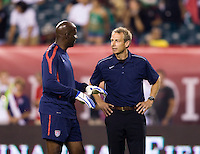 Mike Curry, Jurgen Klinsmann. The USMNT tied Mexico, 1-1, during their game at Lincoln Financial Field in Philadelphia, PA.