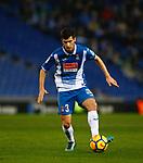 Aaron, RCD Espanyol v Athletico Club Bilbao, Jornada 19 on 14 January 2018, RCDE Estadium, Barcelona. La Liga Santander 2018. Photo Martin Seras Lima