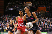 13th September 2017, Hamilton, New Zealand;  New Zealand shooter Maria Tutaia in action during the Taini Jamison Trophy international netball match - Silver Ferns versus  England played at Claudelands Arena, Hamilton, New Zealand on Wednesday 13 September 2017