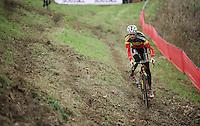 Belgian Champion Klaas Vantornout (BEL/Sunweb-Napoleon Games) at recon<br /> <br /> Jaarmarktcross Niel 2015