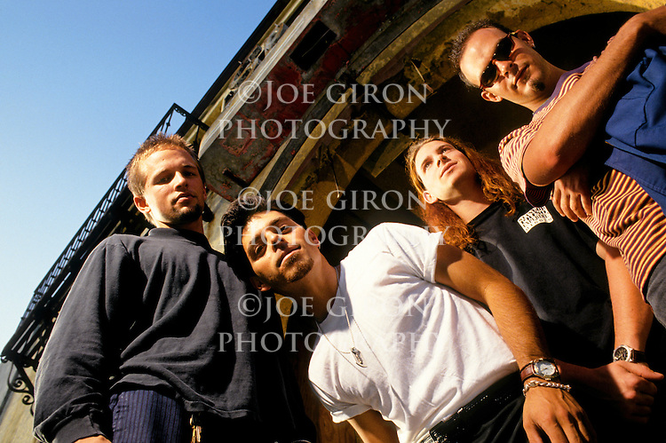 Various portrait sessions of the rock band, For Love Not Lisa.
