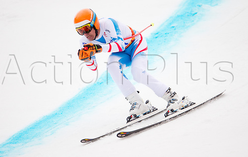 14.03.2014. Sochi, Russia.  Silver medalist Matthias Lanzinger of Austria in action during the Men's Super G - Standing of the Super Combined in Rosa Khutor Alpine Center at the Sochi 2014 Paralympic Winter Games, Krasnaya Polyana, Russia, 14 March 2014.