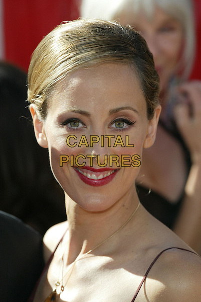 KIM RAVER.At the 56th Annual Prime Time Emmy Awards held the Shrine Auditorium, Los Angeles, CA, USA, .19th September, 2004..portrait headshot .Ref: ADM.www.capitalpictures.com.sales@capitalpictures.com.©Charles Harris/AdMedia/Capital Pictures .