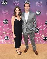 05 August 2019 - West Hollywood, California - Christy Meyers, Jeff Meacham. ABC's TCA Summer Press Tour Carpet Event held at Soho House.   <br /> CAP/ADM/BB<br /> ©BB/ADM/Capital Pictures